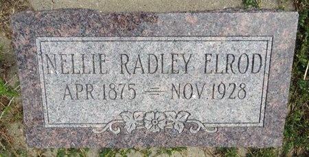 ELROD, NELLLIE - Haakon County, South Dakota | NELLLIE ELROD - South Dakota Gravestone Photos
