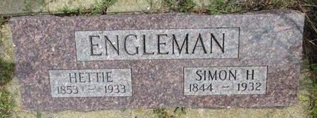 ENGLEMAN, SIMON - Haakon County, South Dakota | SIMON ENGLEMAN - South Dakota Gravestone Photos