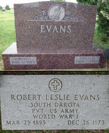 EVANS, ROBERT - Haakon County, South Dakota   ROBERT EVANS - South Dakota Gravestone Photos