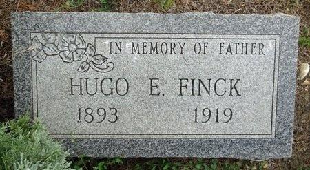 FINCK, HUGO - Haakon County, South Dakota | HUGO FINCK - South Dakota Gravestone Photos