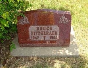 FITZGERALD, BRUCE - Haakon County, South Dakota | BRUCE FITZGERALD - South Dakota Gravestone Photos