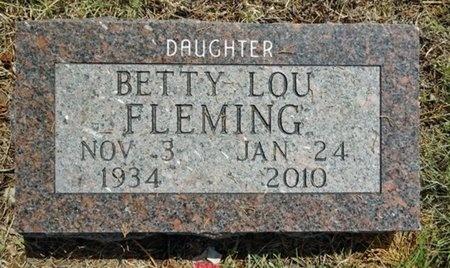 FLEMING, BETTY - Haakon County, South Dakota | BETTY FLEMING - South Dakota Gravestone Photos