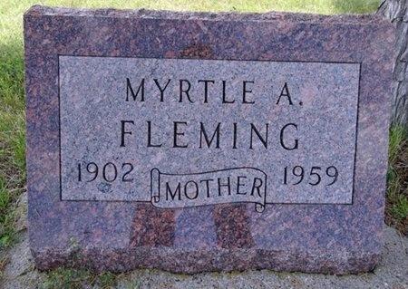 FLEMING, MYRTLE - Haakon County, South Dakota   MYRTLE FLEMING - South Dakota Gravestone Photos