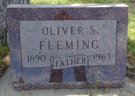 FLEMING, OLIVER - Haakon County, South Dakota   OLIVER FLEMING - South Dakota Gravestone Photos