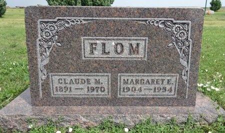 FLOM, CLAUDE - Haakon County, South Dakota | CLAUDE FLOM - South Dakota Gravestone Photos