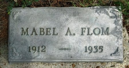 FLOM, MABEL - Haakon County, South Dakota   MABEL FLOM - South Dakota Gravestone Photos