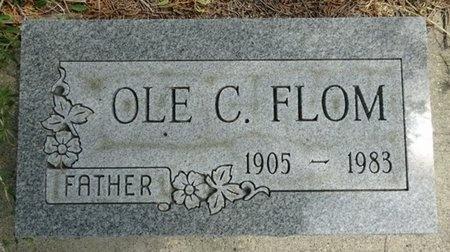 FLOM, OLE - Haakon County, South Dakota | OLE FLOM - South Dakota Gravestone Photos