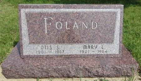FOLAND, MARY - Haakon County, South Dakota | MARY FOLAND - South Dakota Gravestone Photos