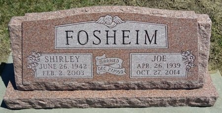 FOSHEIM, SHIRLEY - Haakon County, South Dakota | SHIRLEY FOSHEIM - South Dakota Gravestone Photos