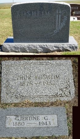 FOSHEIM, THOR - Haakon County, South Dakota | THOR FOSHEIM - South Dakota Gravestone Photos