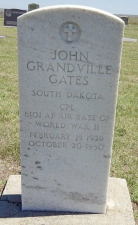 GATES, JOHN G. - Haakon County, South Dakota | JOHN G. GATES - South Dakota Gravestone Photos