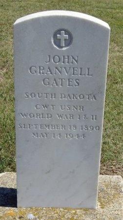 GATES, JOHN GRANVELL - Haakon County, South Dakota | JOHN GRANVELL GATES - South Dakota Gravestone Photos