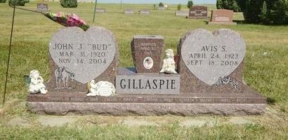 SCHILLING GILLASPIE, AVIS - Haakon County, South Dakota | AVIS SCHILLING GILLASPIE - South Dakota Gravestone Photos
