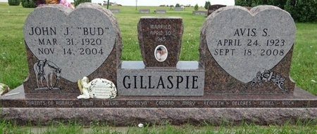 "GILLASPIE, JOHN ""BUD"" - Haakon County, South Dakota | JOHN ""BUD"" GILLASPIE - South Dakota Gravestone Photos"