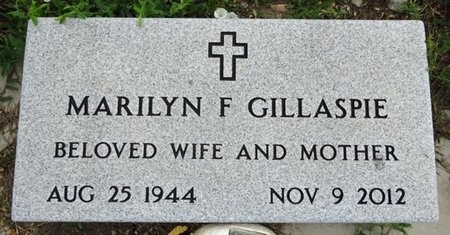 GILLASPIE, MARILYN - Haakon County, South Dakota | MARILYN GILLASPIE - South Dakota Gravestone Photos