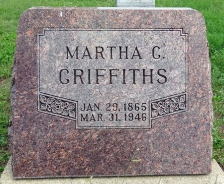 GRIFFITHS, MARTHA - Haakon County, South Dakota | MARTHA GRIFFITHS - South Dakota Gravestone Photos