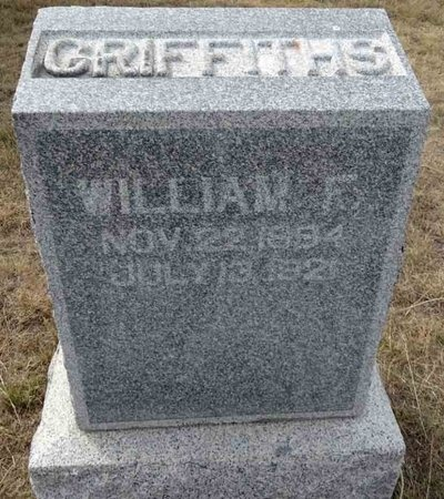 GRIFFITHS, WILLIAM - Haakon County, South Dakota   WILLIAM GRIFFITHS - South Dakota Gravestone Photos