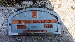 HAMMOND, OSCAR - Haakon County, South Dakota | OSCAR HAMMOND - South Dakota Gravestone Photos