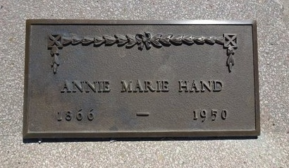 HAND, ANNIE - Haakon County, South Dakota   ANNIE HAND - South Dakota Gravestone Photos