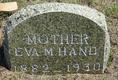 HAND, EVA - Haakon County, South Dakota   EVA HAND - South Dakota Gravestone Photos