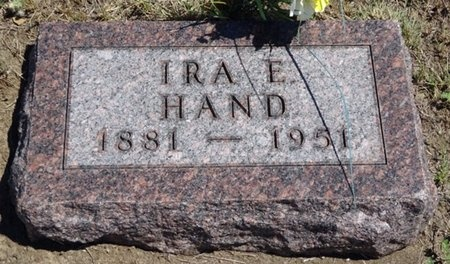 HAND, IRA - Haakon County, South Dakota | IRA HAND - South Dakota Gravestone Photos