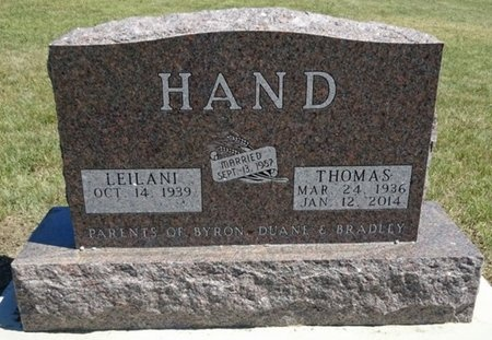 HAND, LEILANI - Haakon County, South Dakota | LEILANI HAND - South Dakota Gravestone Photos