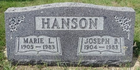 HANSON, JOSEPH - Haakon County, South Dakota | JOSEPH HANSON - South Dakota Gravestone Photos