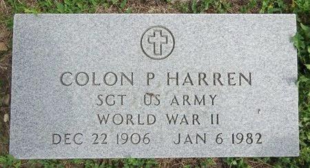 HARREN, COLON - Haakon County, South Dakota   COLON HARREN - South Dakota Gravestone Photos