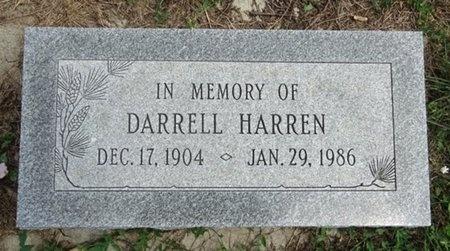 HARREN, DARRELL - Haakon County, South Dakota | DARRELL HARREN - South Dakota Gravestone Photos