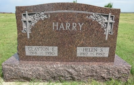 HARRY, CLAYTON - Haakon County, South Dakota | CLAYTON HARRY - South Dakota Gravestone Photos