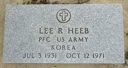 HEEB, LEE - Haakon County, South Dakota | LEE HEEB - South Dakota Gravestone Photos