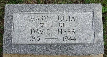 HEEB, MARY - Haakon County, South Dakota | MARY HEEB - South Dakota Gravestone Photos