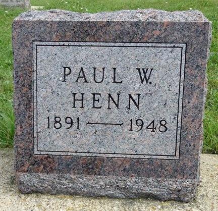 HENN, PAUL - Haakon County, South Dakota | PAUL HENN - South Dakota Gravestone Photos