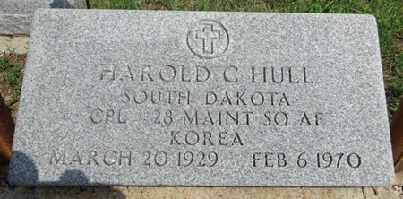 HULL, HAROLD - Haakon County, South Dakota | HAROLD HULL - South Dakota Gravestone Photos