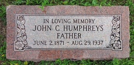 HUMPHREYS, JOHN - Haakon County, South Dakota   JOHN HUMPHREYS - South Dakota Gravestone Photos