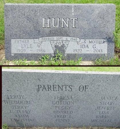 FOSHEIM HUNT, IDA - Haakon County, South Dakota | IDA FOSHEIM HUNT - South Dakota Gravestone Photos