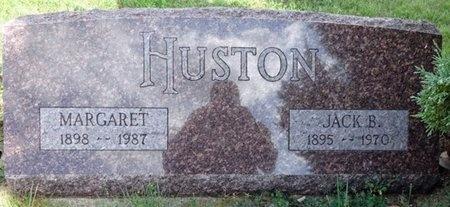 MCCULLOUGH HUSTON, MARGARET - Haakon County, South Dakota | MARGARET MCCULLOUGH HUSTON - South Dakota Gravestone Photos