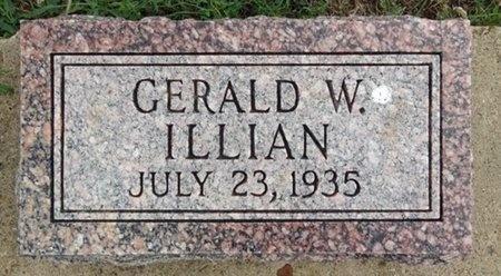 ILLIAN, GERALD - Haakon County, South Dakota   GERALD ILLIAN - South Dakota Gravestone Photos