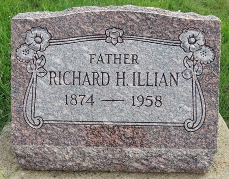 ILLIAN, RICHARD - Haakon County, South Dakota | RICHARD ILLIAN - South Dakota Gravestone Photos