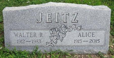 JEITZ, WALTER - Haakon County, South Dakota   WALTER JEITZ - South Dakota Gravestone Photos