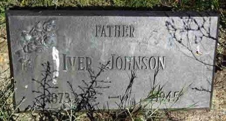 JOHNSON, IVER - Haakon County, South Dakota | IVER JOHNSON - South Dakota Gravestone Photos