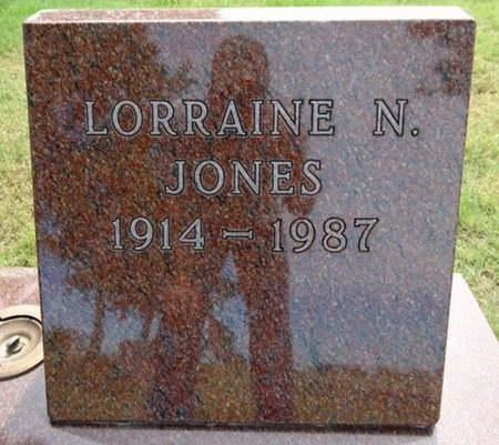 JONES, LORRAINE - Haakon County, South Dakota | LORRAINE JONES - South Dakota Gravestone Photos