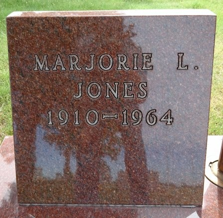 JONES, MARJORIE - Haakon County, South Dakota | MARJORIE JONES - South Dakota Gravestone Photos