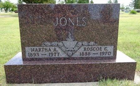 JONES, MARTHA - Haakon County, South Dakota   MARTHA JONES - South Dakota Gravestone Photos