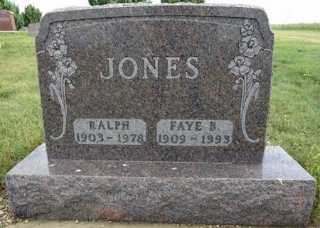JONES, FAYE - Haakon County, South Dakota | FAYE JONES - South Dakota Gravestone Photos