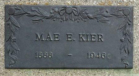 KIER, MAE - Haakon County, South Dakota | MAE KIER - South Dakota Gravestone Photos
