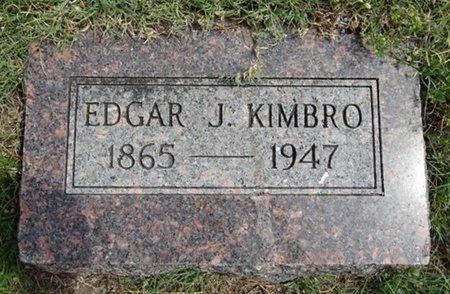 KIMBRO, EDGAR - Haakon County, South Dakota | EDGAR KIMBRO - South Dakota Gravestone Photos