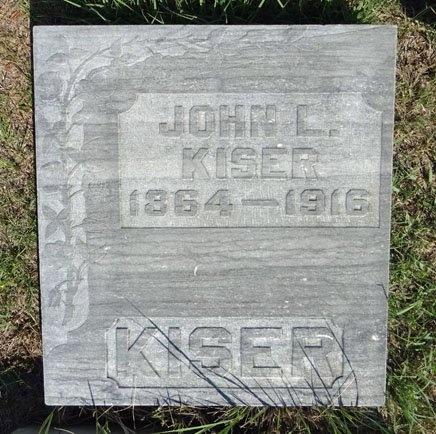 KISER, JOHN - Haakon County, South Dakota | JOHN KISER - South Dakota Gravestone Photos