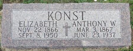 KONST, ELIZABETH - Haakon County, South Dakota   ELIZABETH KONST - South Dakota Gravestone Photos