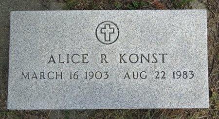 KONST, ALICE - Haakon County, South Dakota   ALICE KONST - South Dakota Gravestone Photos